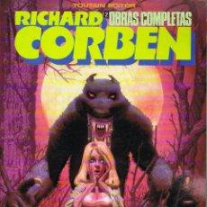 Cómics: RICHARD CORBEN OBRAS COMPLETAS 2 HOMBRE LOBO. Lote 194263722