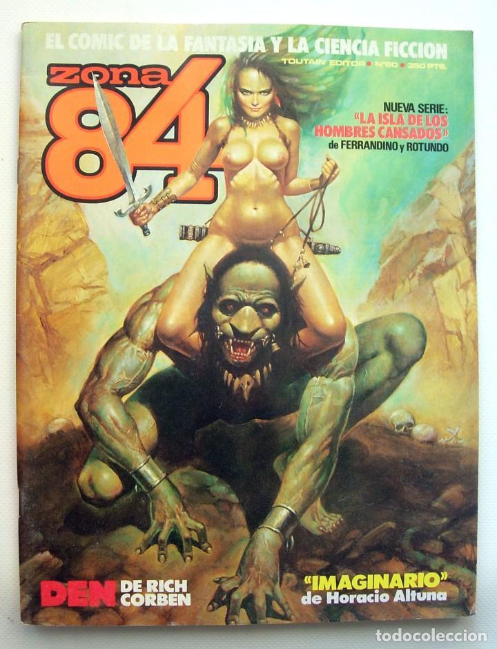 ZONA 84 Nº 60 TOUTAIN - COMICS - EXCELENTE ESTADO (Tebeos y Comics - Toutain - Zona 84)
