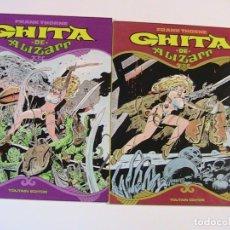 Cómics: GHITTA DE ALIZARR TOMO 1 Y 2. TOUTAIN, 1990.. Lote 194765962