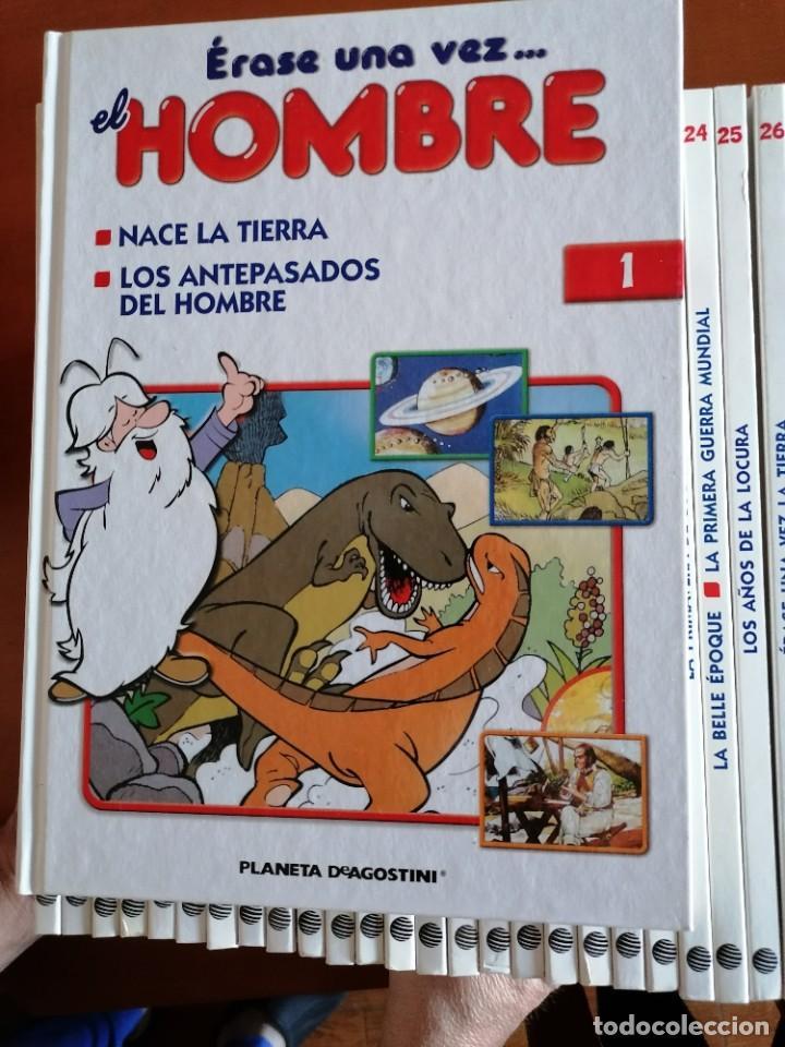 ERASE UNA VEZ .... EL HOMBRE ** COMPLETA 26 Nº Y MBE COMO NUEVA ** ED. 2003 * PLANETA DEAGOSTINI (Tebeos y Comics - Toutain - Obras Completas)