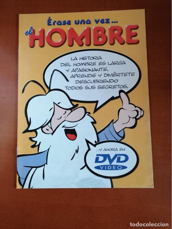Cómics: ERASE UNA VEZ .... EL HOMBRE ** COMPLETA 26 Nº Y MBE COMO NUEVA ** ED. 2003 * PLANETA DEAGOSTINI - Foto 5 - 195006426