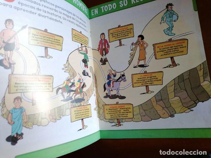 Cómics: ERASE UNA VEZ .... EL HOMBRE ** COMPLETA 26 Nº Y MBE COMO NUEVA ** ED. 2003 * PLANETA DEAGOSTINI - Foto 6 - 195006426