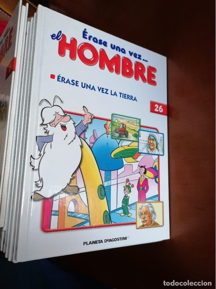 Cómics: ERASE UNA VEZ .... EL HOMBRE ** COMPLETA 26 Nº Y MBE COMO NUEVA ** ED. 2003 * PLANETA DEAGOSTINI - Foto 9 - 195006426