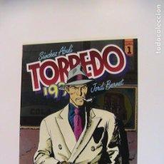 Cómics: TORPEDO 1936 TOMO 1. TOUTAIN, 1990.. Lote 195221577