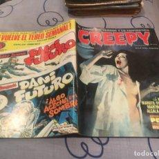 Cómics: CREEPY Nº 21.EL COMIC DEL TERROR Y LO FANTASTICO.TOUTAIN EDITOR.1979. Lote 195422592
