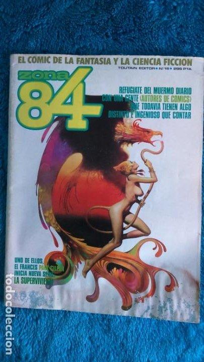 ZONA 84 NÚMERO 16 (Tebeos y Comics - Toutain - Zona 84)