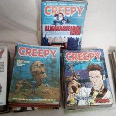 Cómics: CREEPY - COLECCIÓN COMPLETA - 80 NÚMEROS 1ª ÉPOCA. Lote 195731416