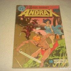 Fumetti: ANDRAX N. 1 6 . 10 HISTORIAS COMPLETAS . JORDI BERNET. Lote 196009480
