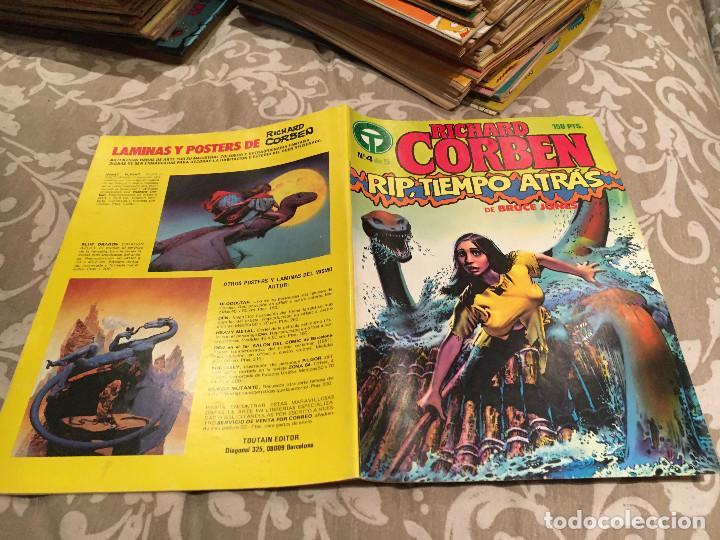 RICHARD CORBEN Nº 4 DE 5 - RIP, TIEMPO ATRAS - TOUTAIN (Tebeos y Comics - Toutain - Otros)