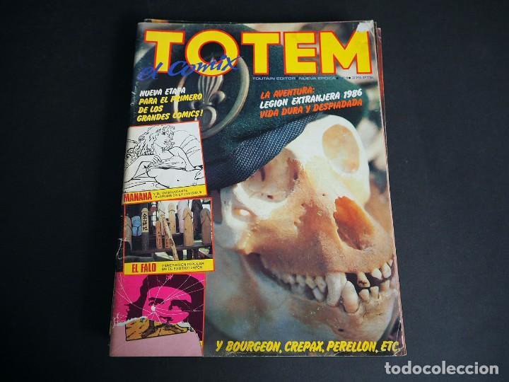 Cómics: Totem el comix. Nueva época. Lote con los 5 primeros números. Toutain editor - Foto 2 - 196160958