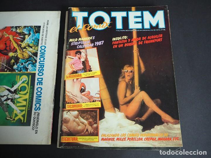 Cómics: Totem el comix. Nueva época. Lote con los 5 primeros números. Toutain editor - Foto 4 - 196160958