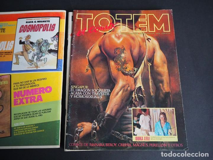 Cómics: Totem el comix. Nueva época. Lote con los 5 primeros números. Toutain editor - Foto 7 - 196160958