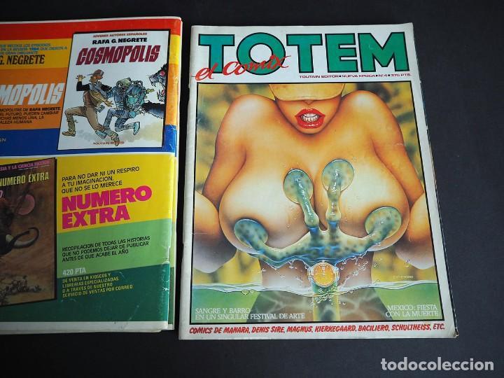 Cómics: Totem el comix. Nueva época. Lote con los 5 primeros números. Toutain editor - Foto 10 - 196160958