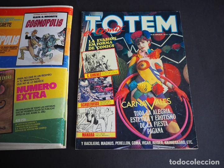 Cómics: Totem el comix. Nueva época. Lote con los 5 primeros números. Toutain editor - Foto 13 - 196160958