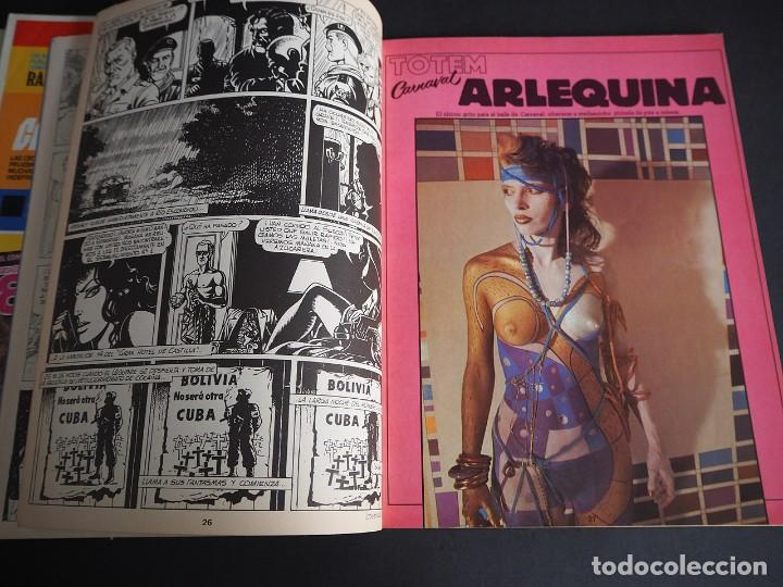 Cómics: Totem el comix. Nueva época. Lote con los 5 primeros números. Toutain editor - Foto 14 - 196160958
