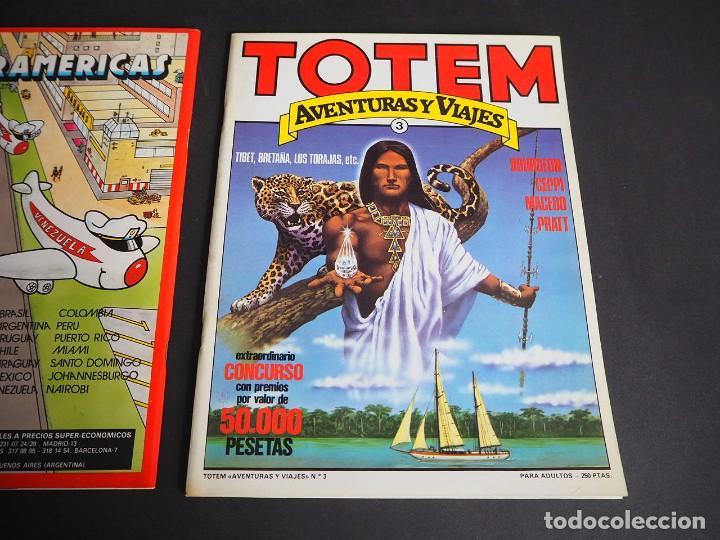 Cómics: Totem . Aventuras y viajes. Lote con dos tomos. Números 1 y 3. Nueva frontera 1983 - Foto 4 - 196161431