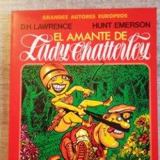 Cómics: GRANDES AUTORES EUROPEOS Nº 7 - EL AMANTE DE LADY CHATTERLEY - D.H.LAWRNCE - TOUTAIN EDITOR. Lote 196388143