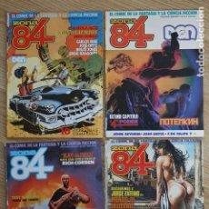 Cómics: LOTE 4 ZONA 84 EL COMIC DE LA FANTASÍA Y LA CIENCIA FICCIÓN Nº 47 48 72 Y 73 TOUTAIN. Lote 196453410