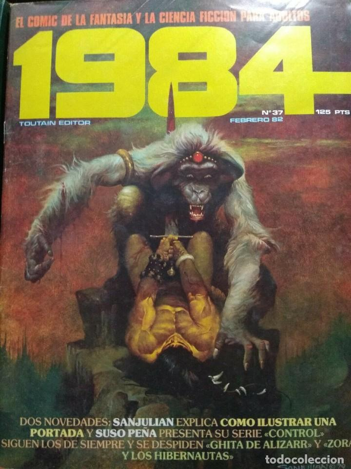 1984 Nº 37 (Tebeos y Comics - Toutain - 1984)