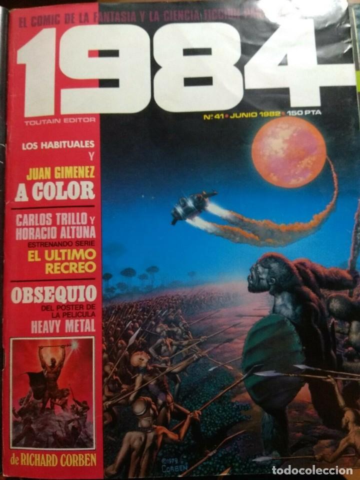 1984 Nº 41 (Tebeos y Comics - Toutain - 1984)