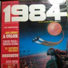 Cómics: 1984 Nº 41. Lote 196569085