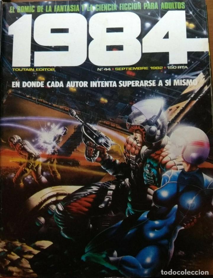 1984 Nº 44 (Tebeos y Comics - Toutain - 1984)