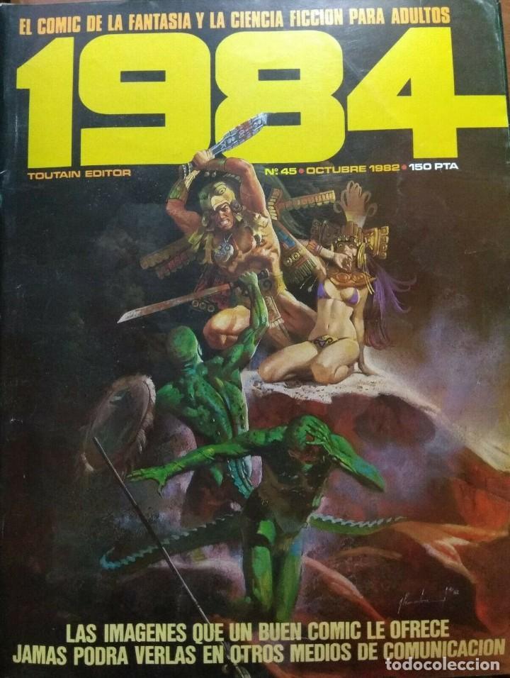 1984 Nº 45 (Tebeos y Comics - Toutain - 1984)