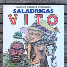 Cómics: VITO, AUTOR, SALADRIGAS. JOVENES AUTORES Nº 1. TOUTAIN EDITOR, AÑO 1986. VER FOTOS. Lote 196636240