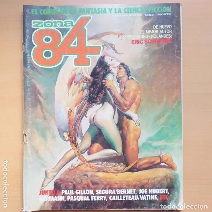 ZONA 84 NUM 55 (Tebeos y Comics - Toutain - Zona 84)