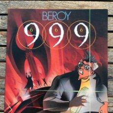 Cómics: 999 (666), AUTOR, BEROY. TOUTAIN EDITOR AÑO 1988. VER FOTOS. . Lote 196751002