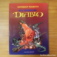 Comics: EN EL NOMBRE DEL DIABLO, ESTEBAN MAROTO. TOUTAIN 1991. Lote 196951221