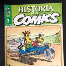Cómics: HISTORIA DE LOS COMICS - FASCICULO 7 - TOUTAIN EDITOR - VER FOTO, DE DISTRIBUIDORA SIN LEER. Lote 196966640