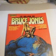 Cómics: CREEPY LO MEJOR DE BRUCE JONES. 1982 EN B/N Y COLOR (BUEN ESTADO, SEMINUEVO). Lote 197056867