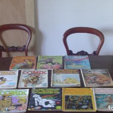 Comics: COMIX ILUSTRACIÓN+ INTERNACIONAL TOUTAIN,LOTE DE 13 VOLS 80·S. Lote 197067082