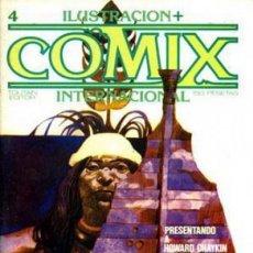 Fumetti: ILUSTRACIÓN+CÓMIX INTERNACIONAL- Nº 4 -SERGIO TOPPI-HOWARD CHAYKIN-BILAL-1980-BUENO-DIFÍCIL-LEA-3267. Lote 197127355