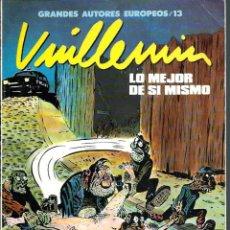 Cómics: VUILLEMIN - LO MEJOR DE SI MISMO - TOUTAIN ED. 1990 - COL. GRANDES AUTORES EUROPEOS Nº 13. Lote 197234073