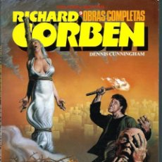 Cómics: RICHARD CORBEN OBRAS COMPLETAS 9 - MANUSCRITOS DE LA PLAGA - TOUTAIN ED. 1989 - BIEN. Lote 197234430