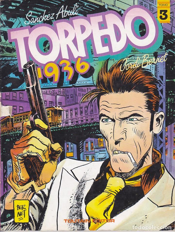 TORPEDO 1936 Nº 3 TOUTAIN EDITOR (Tebeos y Comics - Toutain - Álbumes)