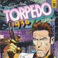 Cómics: TORPEDO 1936 Nº 3 TOUTAIN EDITOR . Lote 197394291