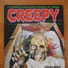Comics: CREEPY Nº NUEVE - Nº 9 - TOUTAIN (GZ). Lote 197523901
