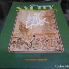 Cómics: N.Y. CITY - WILL EISNER. Lote 197943675