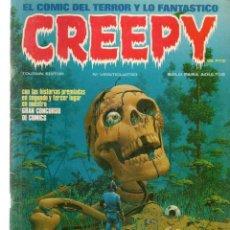Comics: CREEPY. Nº 24. TOUTAIN EDITOR.(P/B4). Lote 198106486