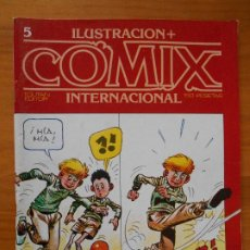 Cómics: ILUSTRACION + COMIX INTERNACIONAL - Nº 5 - TOUTAIN (IQ). Lote 198281730