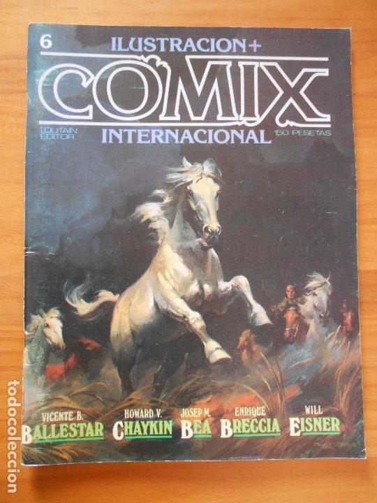 ILUSTRACION + COMIX INTERNACIONAL - Nº 6 - TOUTAIN (IQ) (Tebeos y Comics - Toutain - Comix Internacional)