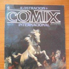 Comics: ILUSTRACION + COMIX INTERNACIONAL - Nº 6 - TOUTAIN (IQ). Lote 198281757