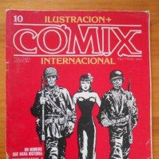 Cómics: ILUSTRACION + COMIX INTERNACIONAL - Nº 10 - TOUTAIN (IQ). Lote 198281843