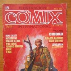 Cómics: ILUSTRACION + COMIX INTERNACIONAL - Nº 19 - TOUTAIN (IQ). Lote 198281866