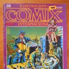 Cómics: ILUSTRACION + COMIX INTERNACIONAL - Nº 38 - TOUTAIN (IQ). Lote 198281986
