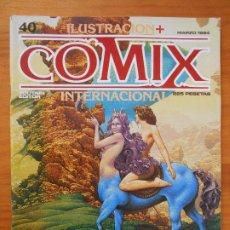 Cómics: ILUSTRACION + COMIX INTERNACIONAL - Nº 40 - TOUTAIN (IQ). Lote 198282072