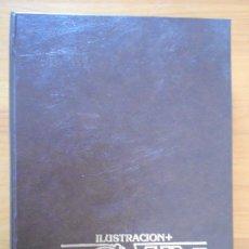 Cómics: ILUSTRACION + COMIX INTERNACIONAL - NÚMEROS 13, 14, 15, 16, 17 Y 18 CON TAPAS - TOUTAIN (IR). Lote 198297036